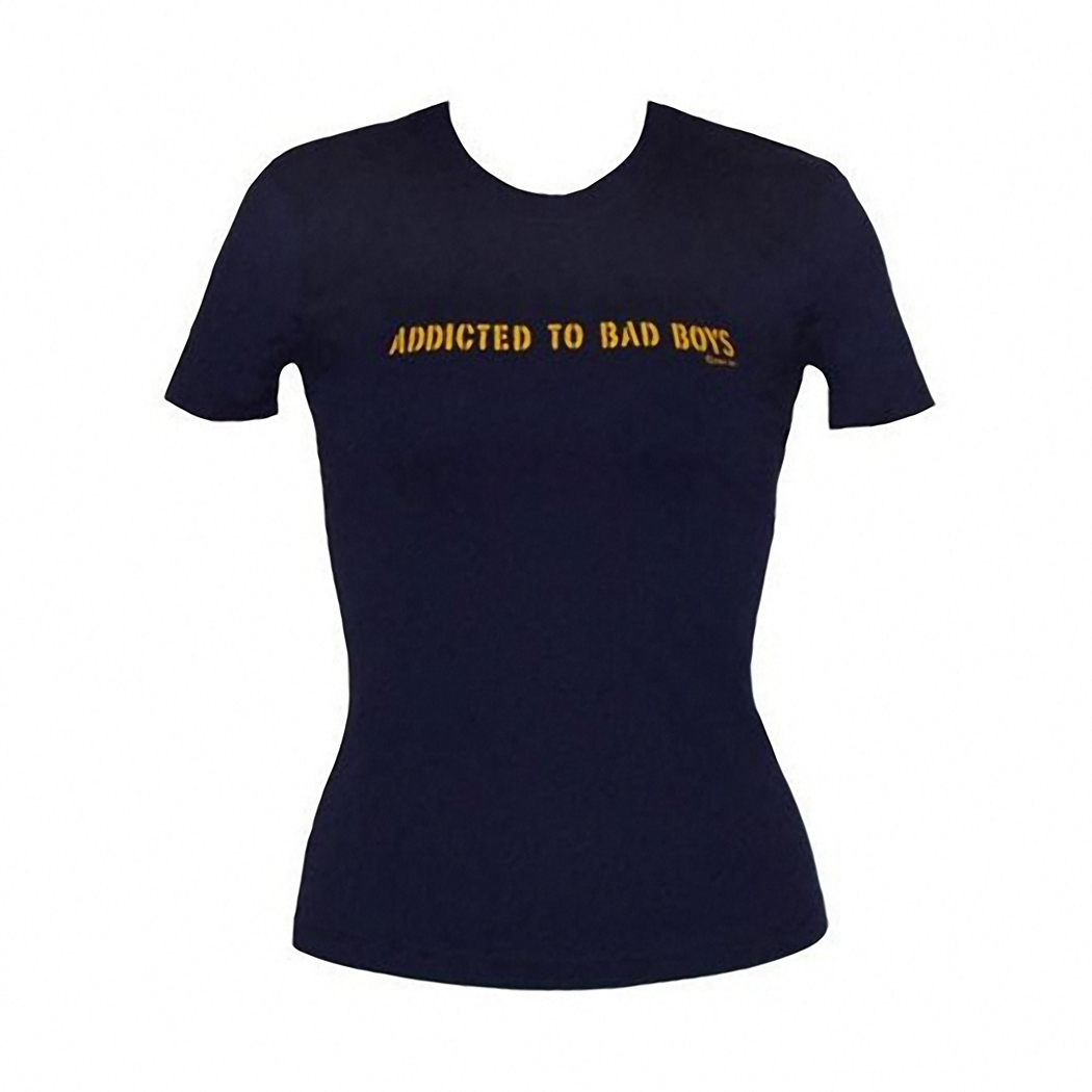 Addicted To Bad Boys Junior T-Shirt