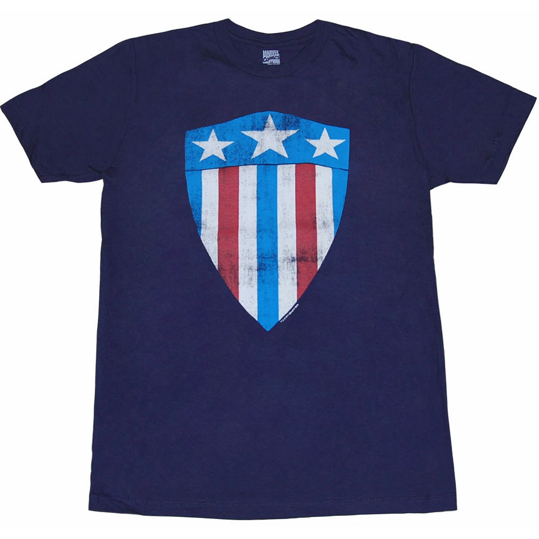 Captain America First Shield T-Shirt