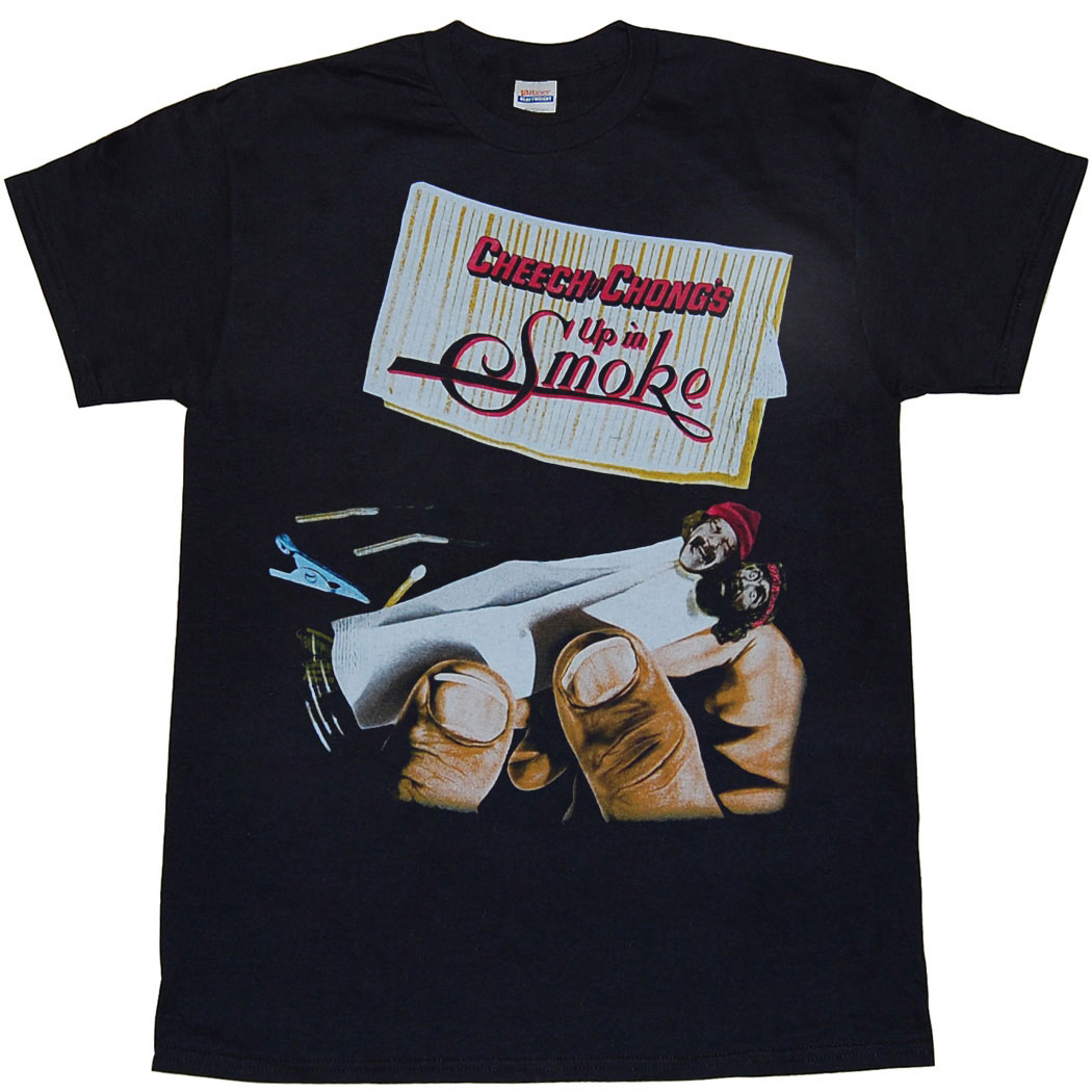 Cheech and Chong Up In Smoke Movie Poster T-Shirt