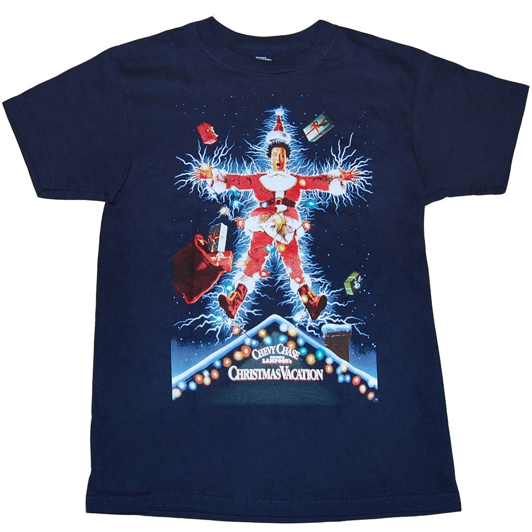 National Lampoon's Christmas Vacation Movie Poster T-Shirt