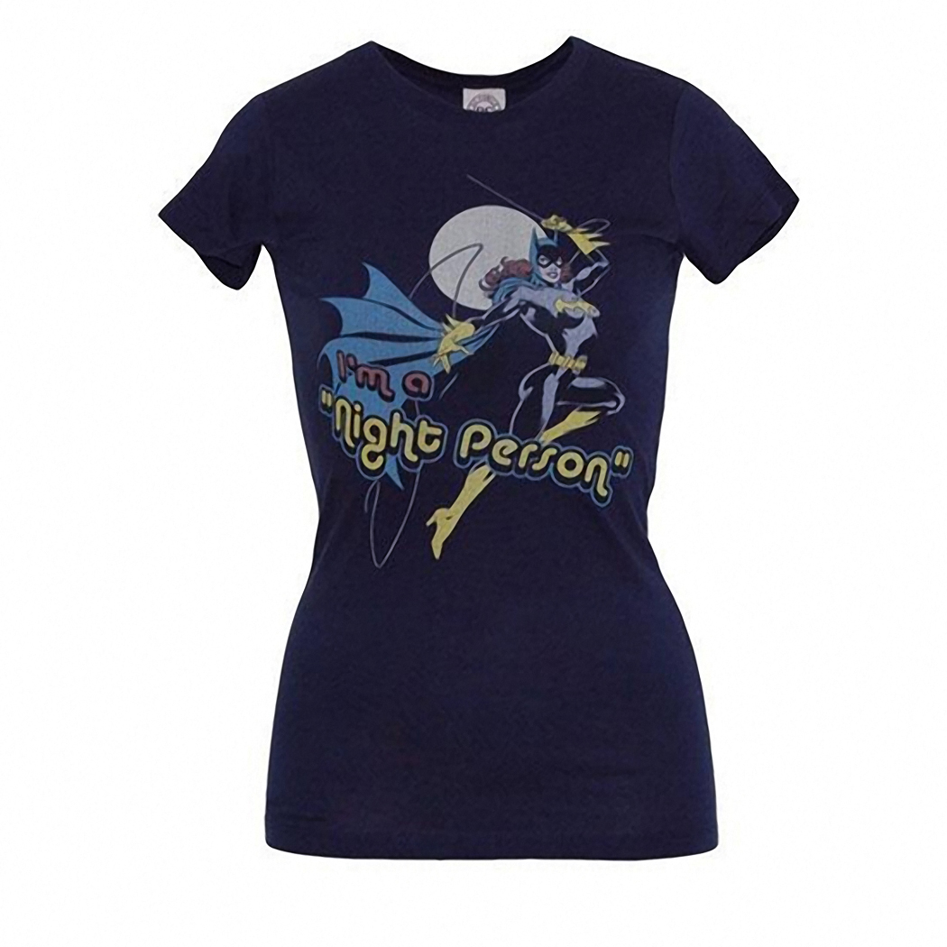 Batgirl Night Person Junior Ladies T-Shirt