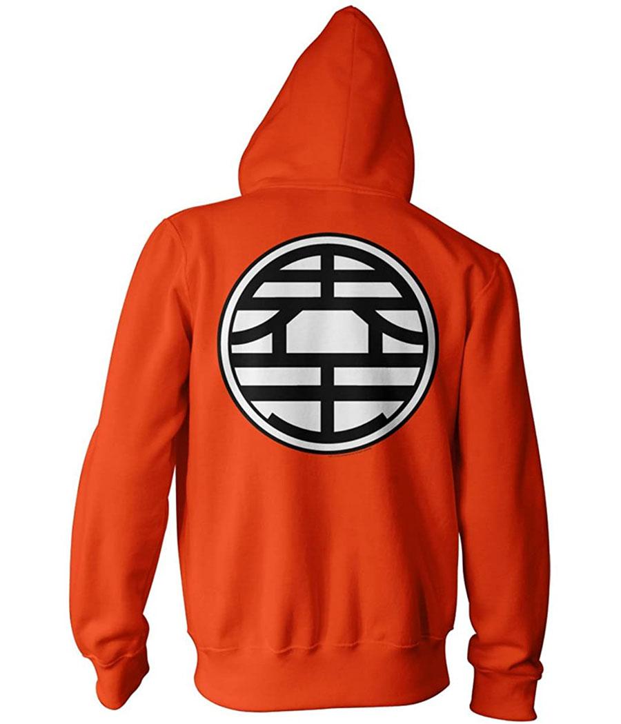 e7a77b23 Dragon Ball Z | Dragon Ball Z Kame Symbol Zip-Up Hoodie | AnimationShops.com