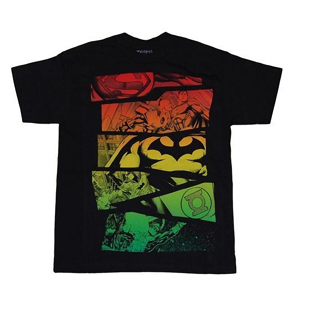 DC Comics Group Rasta Youth T-Shirt