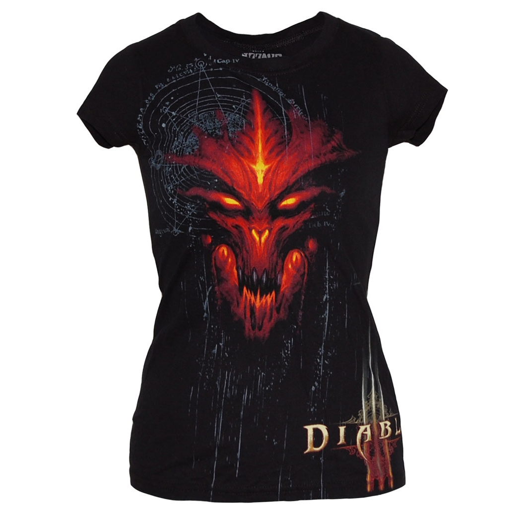 Diablo III Special Edition Ladies Junior T-Shirt