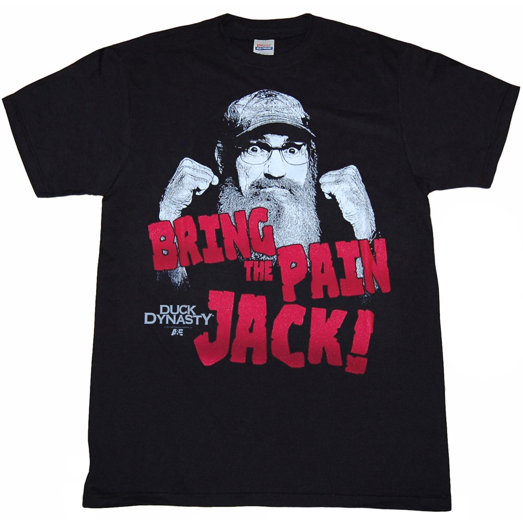 Duck Dynasty Bring The Pain Jack T-Shirt