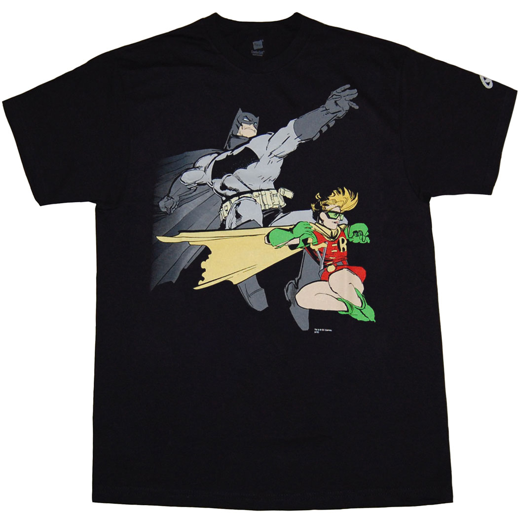 Dark Knight Returns Batman Robin T-Shirt
