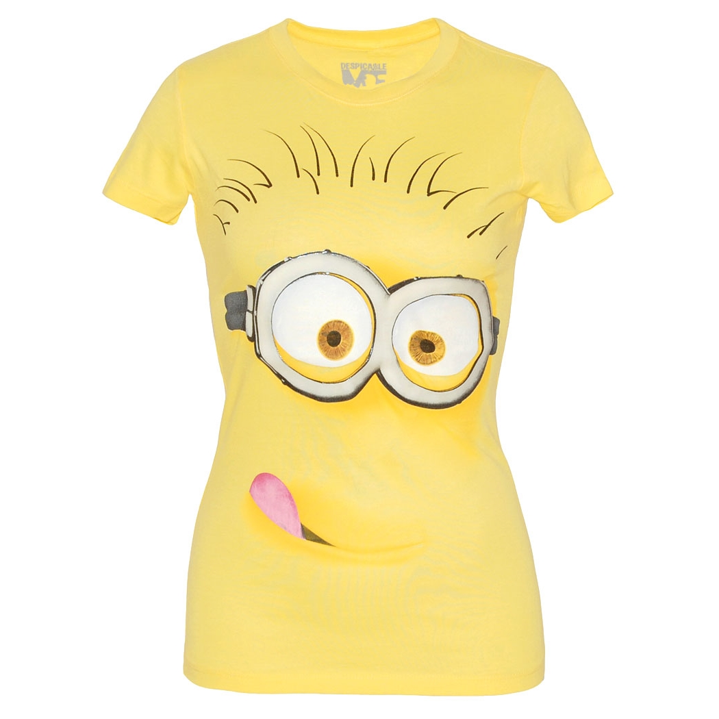 Despicable Me Silly Minion Junior Ladies T-Shirt