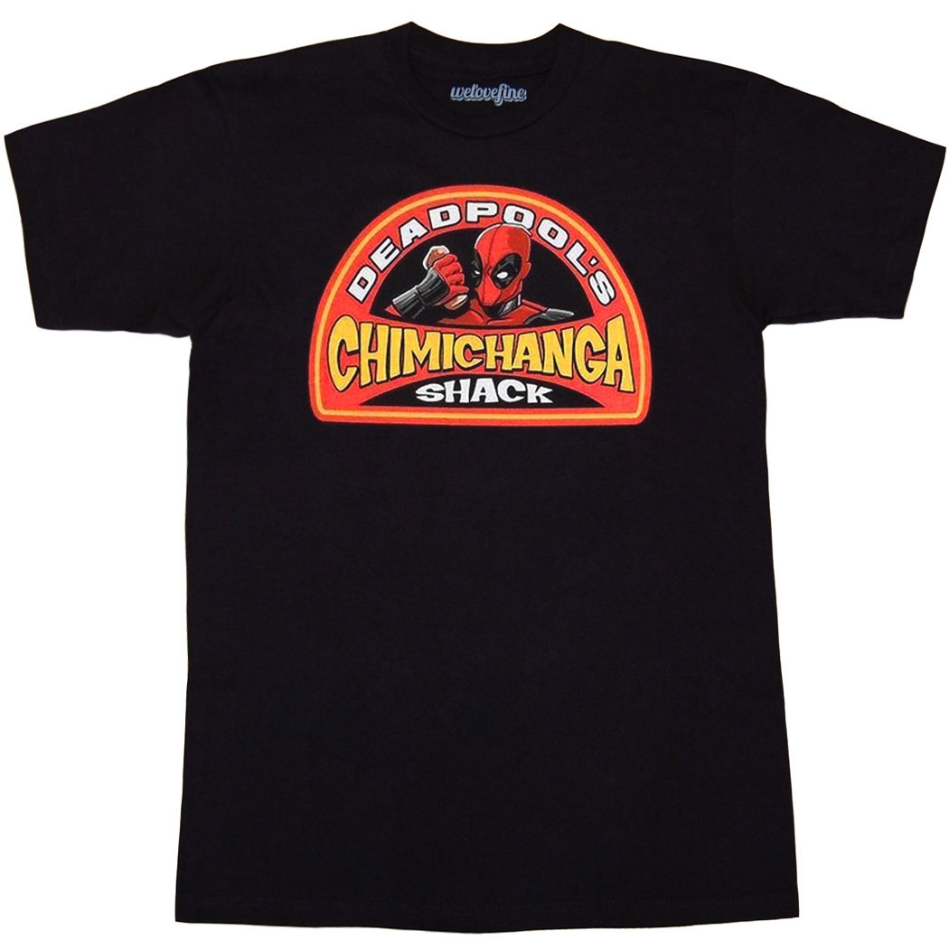 Deadpool Chimichanga Shack T-Shirt
