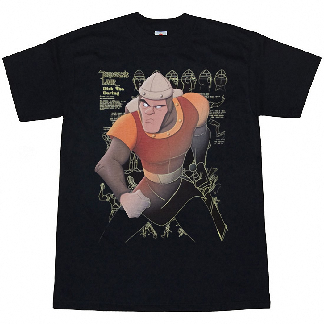 Dragon's Lair Dirk Drawing Board T-Shirt