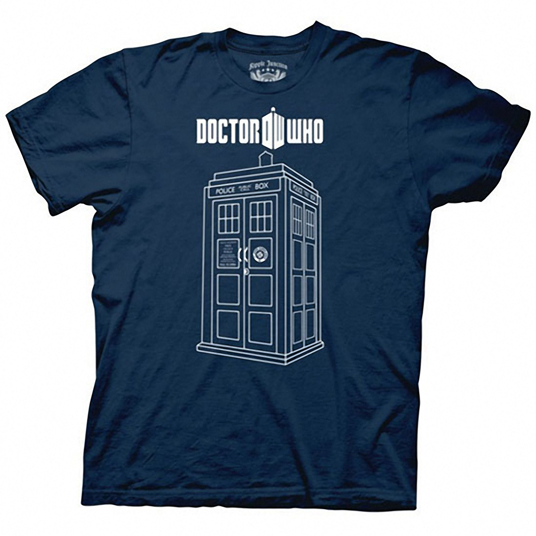 Doctor Who Tardis Vector T-Shirt