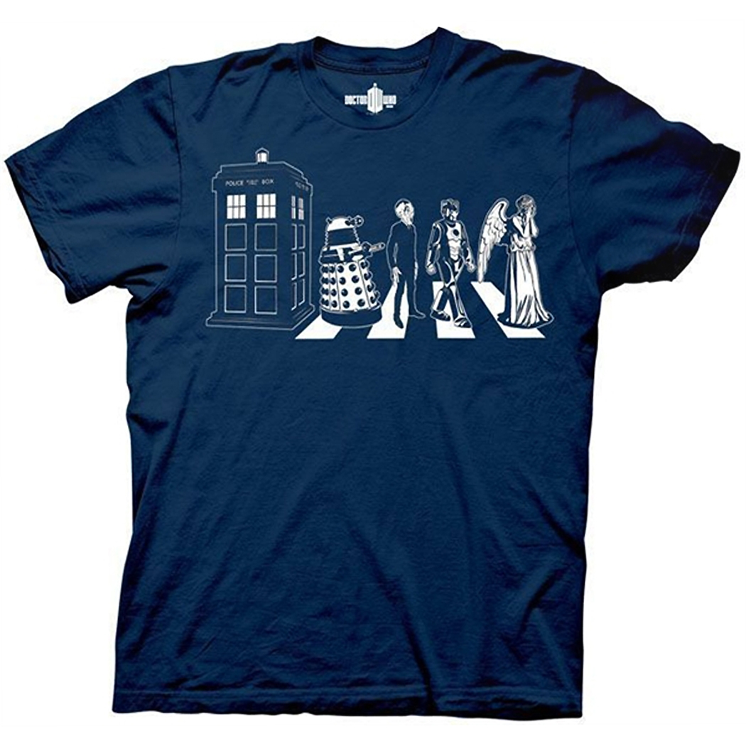Doctor Who Abbey Road T-Shirt