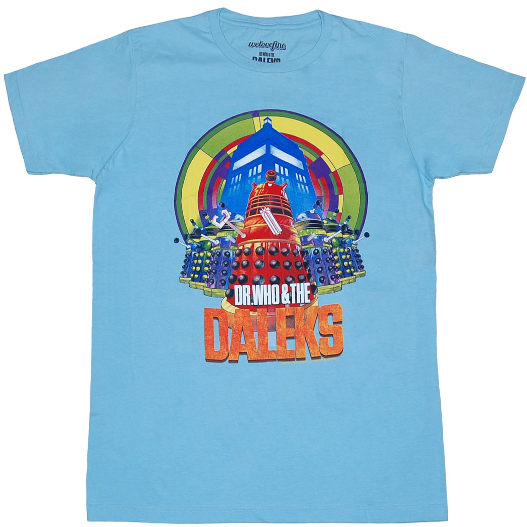 Doctor Who and The Daleks T-Shirt