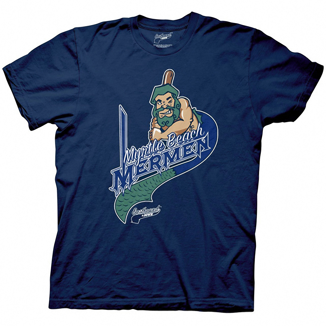 Eastbound & Down Myrtle Beach Mermen Logo T-Shirt