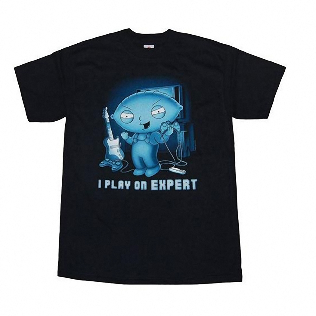 Stewie I Play On Expert T-Shirt