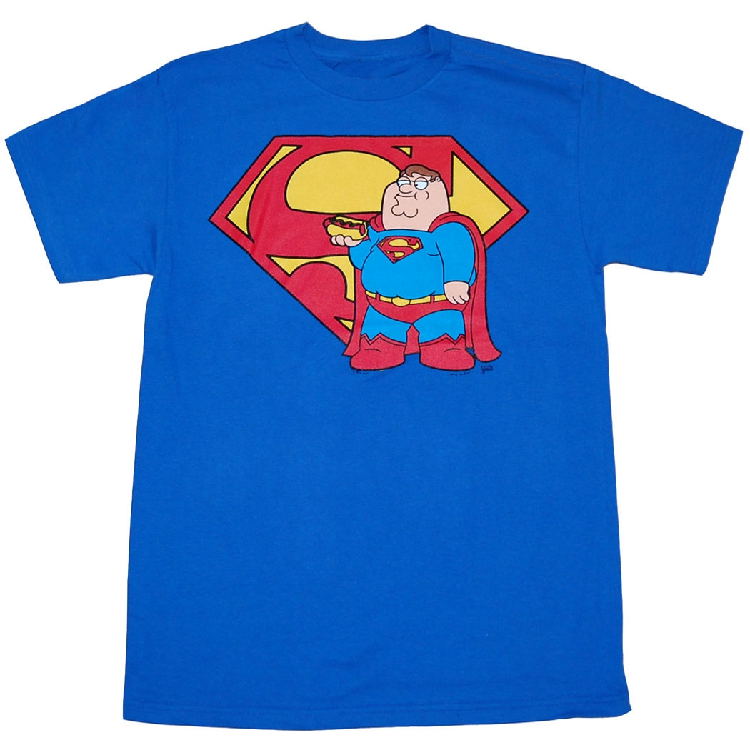 Family Guy Peter Superman T-Shirt