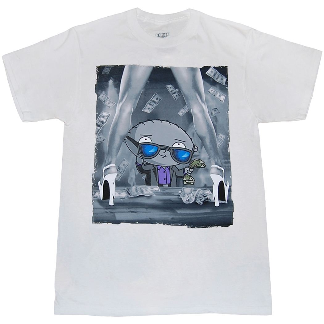 Family Guy Stewie Dollars T-Shirt
