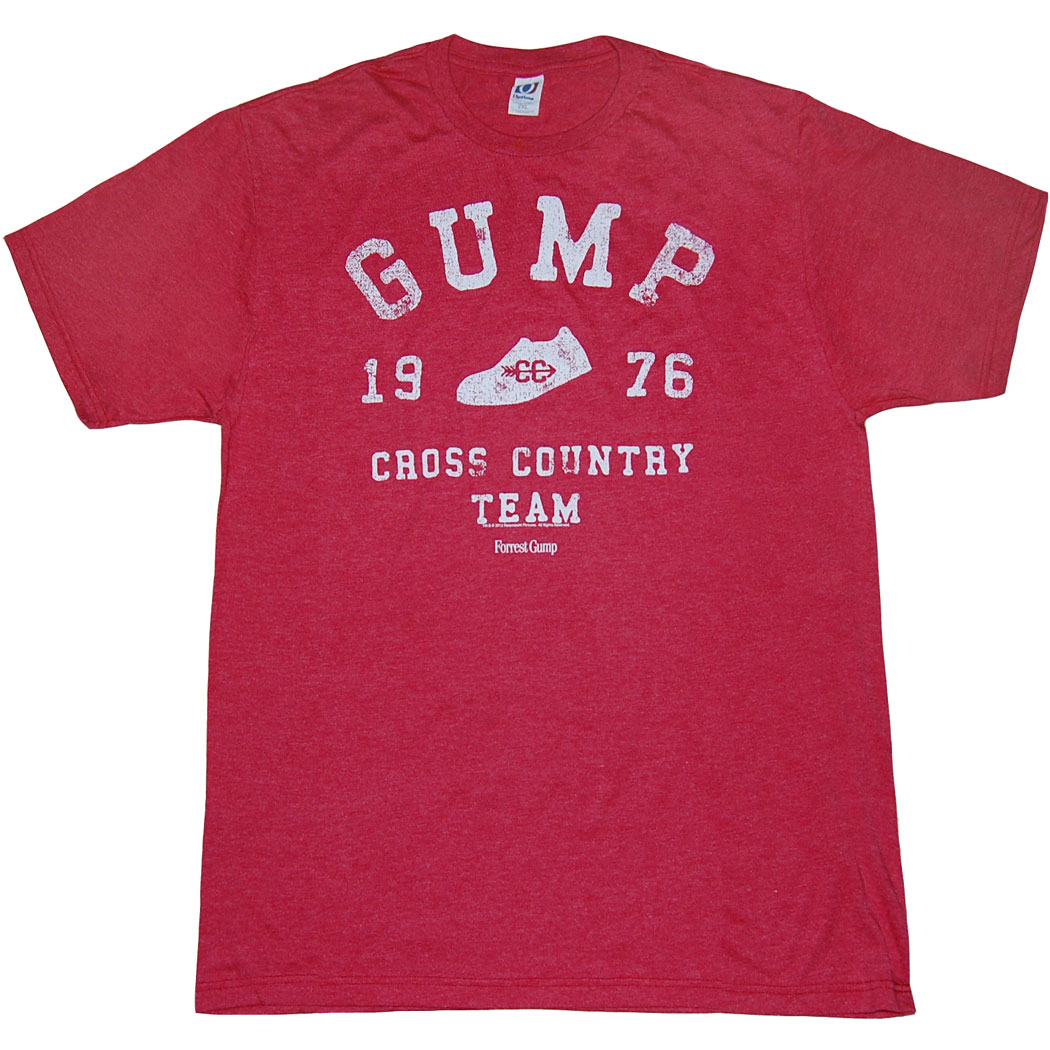 Forrest Gump Cross Country Team T-Shirt