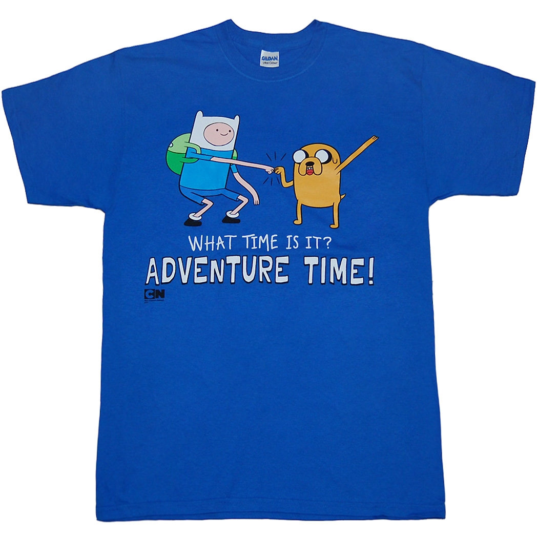 Adventure Time Standing Dap Finn & Jake T-Shirt