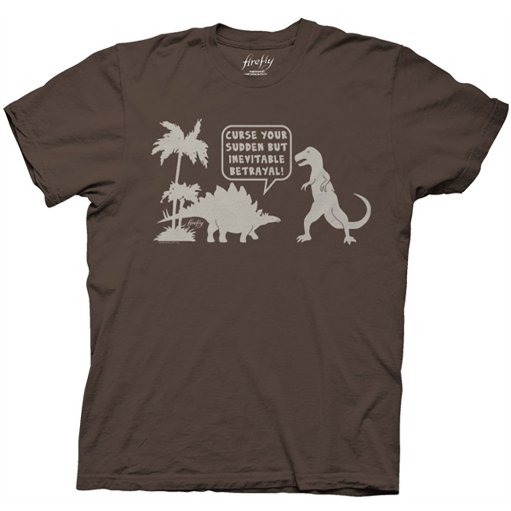 Firefly Curse Your Sudden But Inevitable Betrayal T-Shirt
