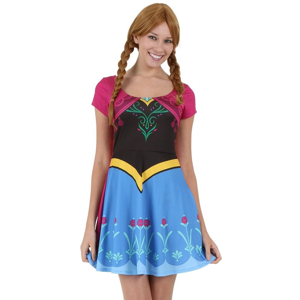 Frozen I Am Anna Women's Skater Dress