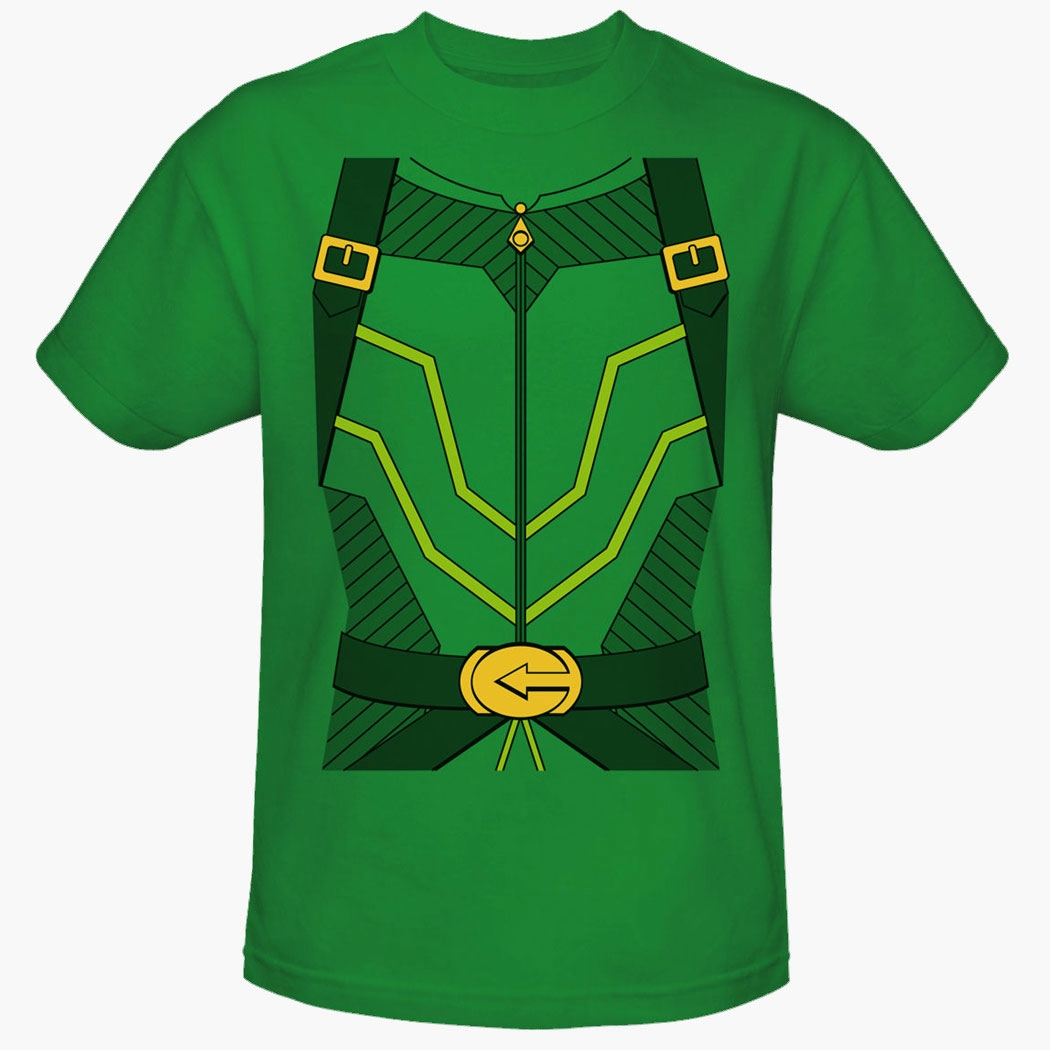 Green Arrow Uniform Costume T-Shirt