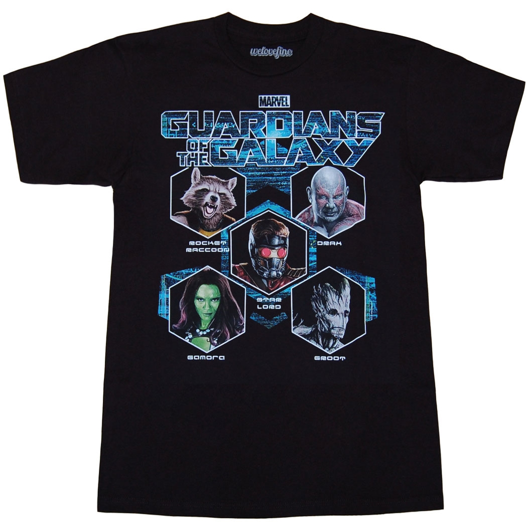 Guardians Of The Galaxy In Concert T-Shirt
