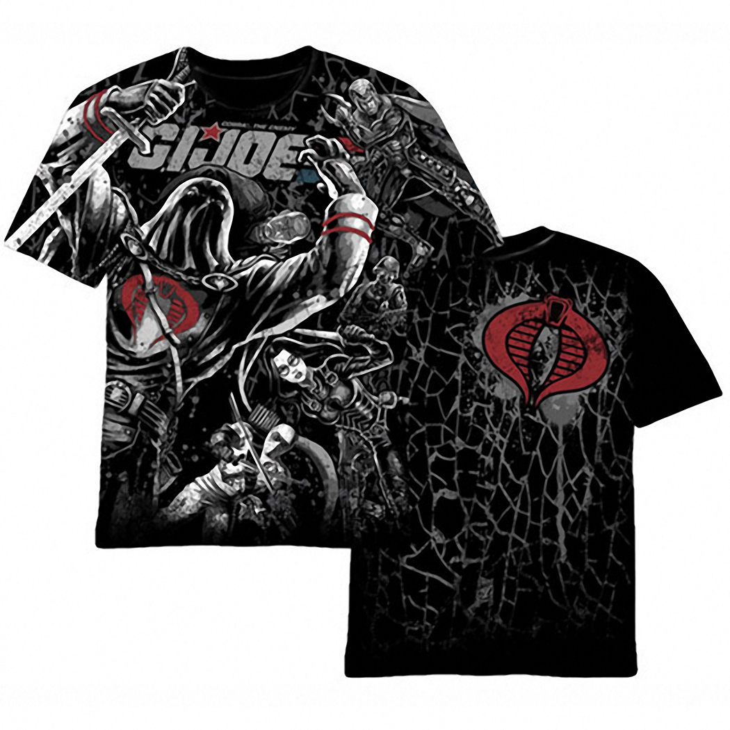 GI Joe Cobra Attack T-Shirt