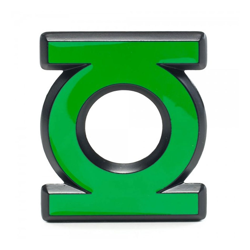 Green Lantern Logo Belt Buckle
