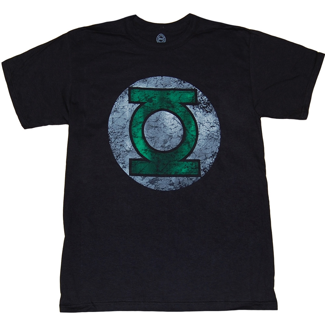 Green Lantern Distressed Logo T-Shirt