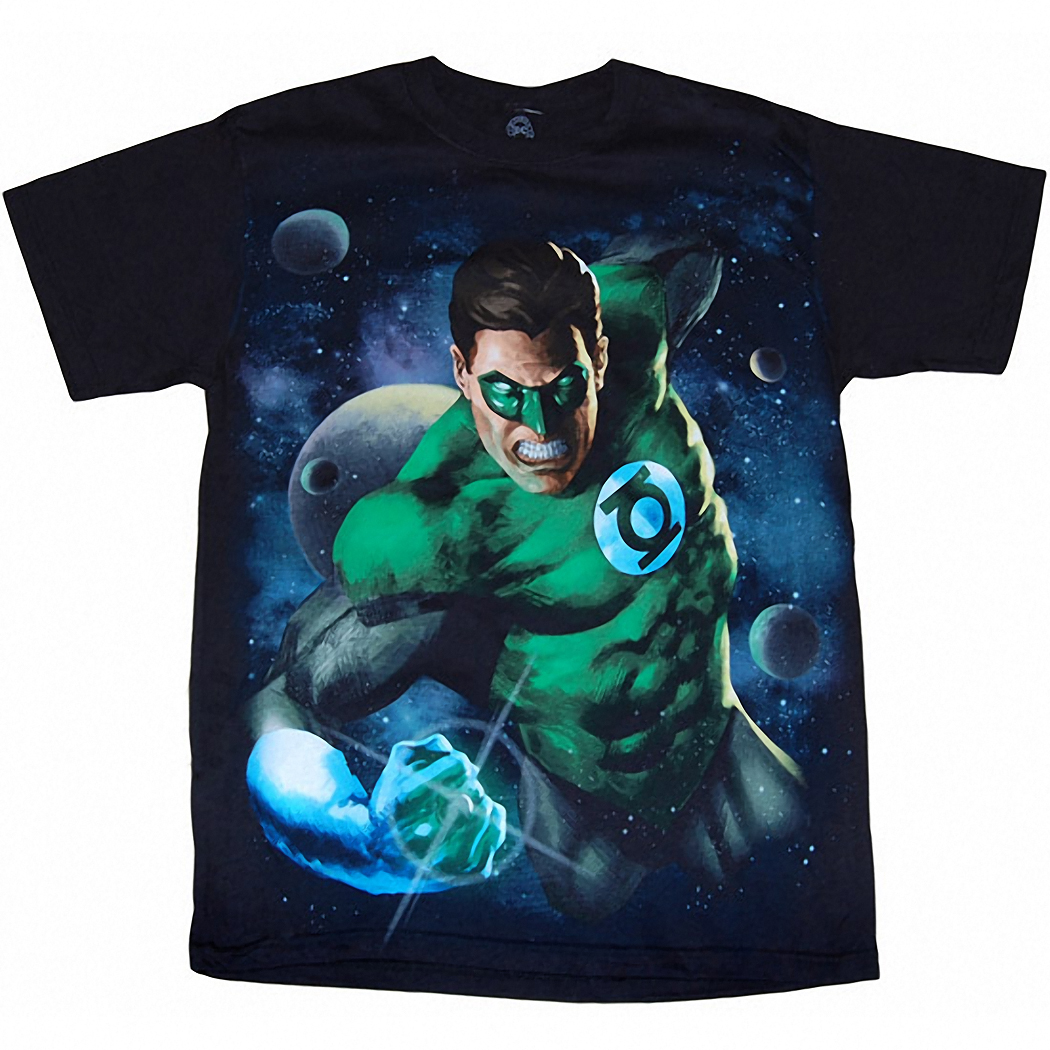 Green Lantern Intense Adult T-Shirt