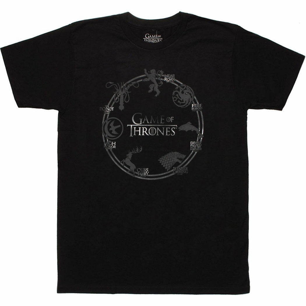 Game Of Thrones House Sigil T-Shirt