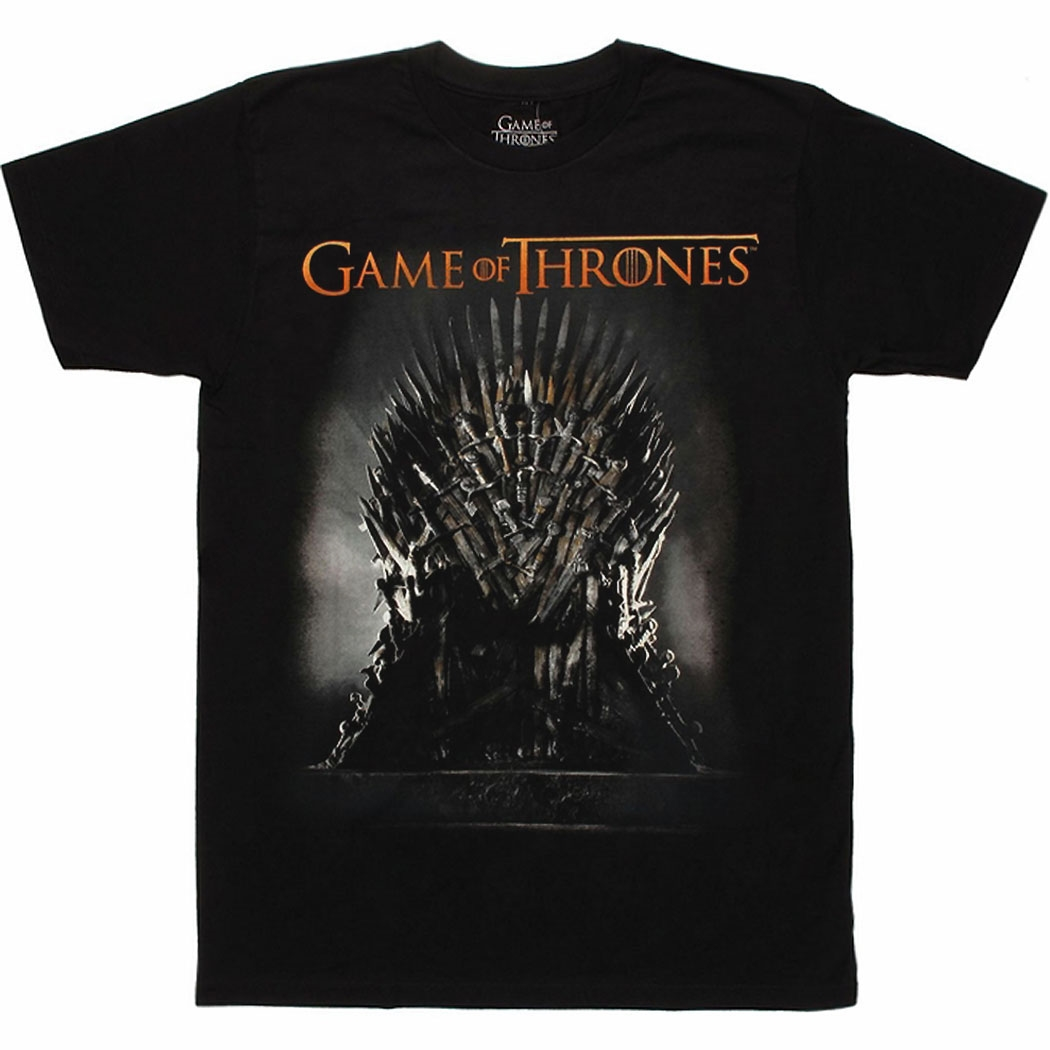 Game of Thrones Iron Throne T-Shirt