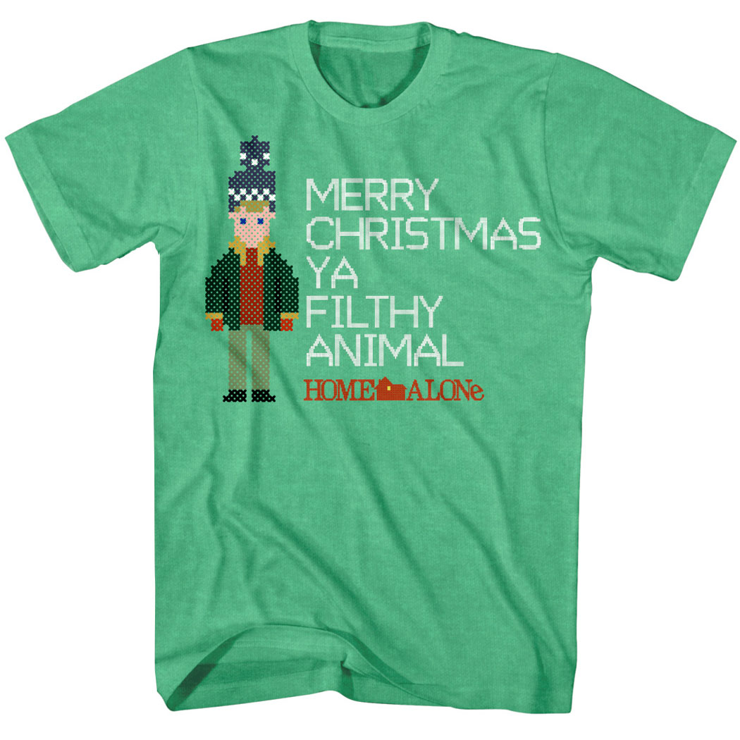 Merry Christmas Ya Filthy Animal Shirt.Home Alone Merry Christmas Ya Filthy Animal T Shirt
