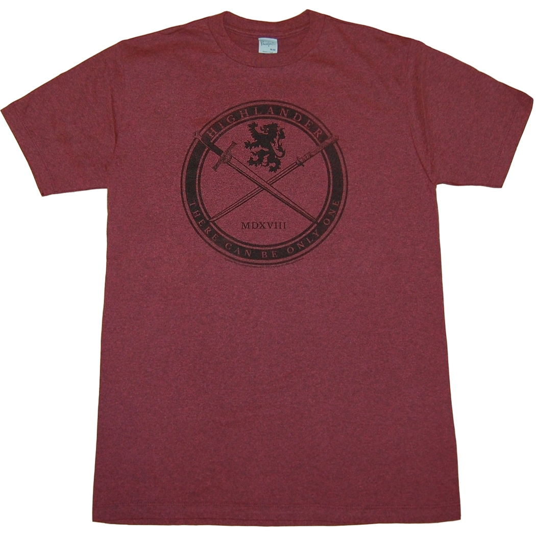 Highlander Sword and Crest T-Shirt