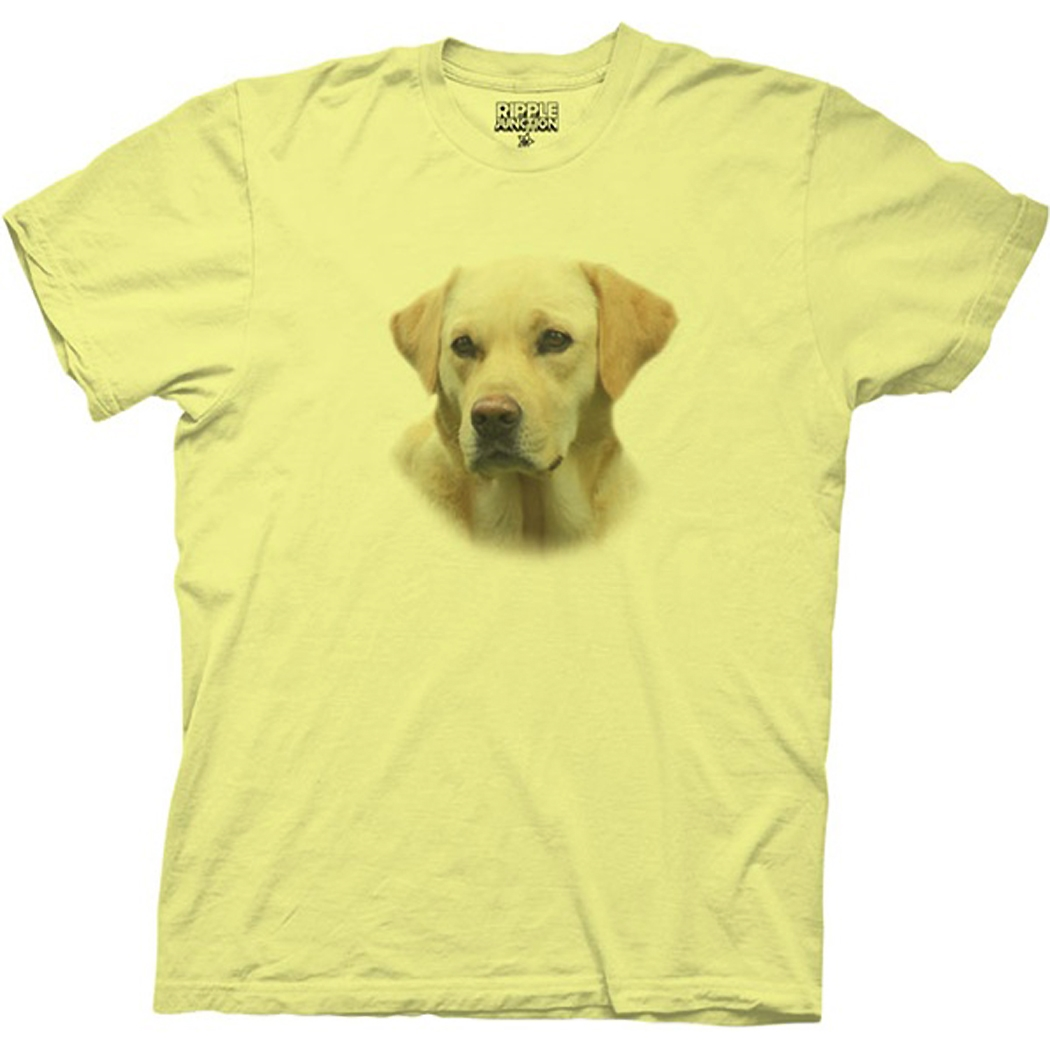 The Hangover Frisky Bizpets Yellow Lab T-Shirt