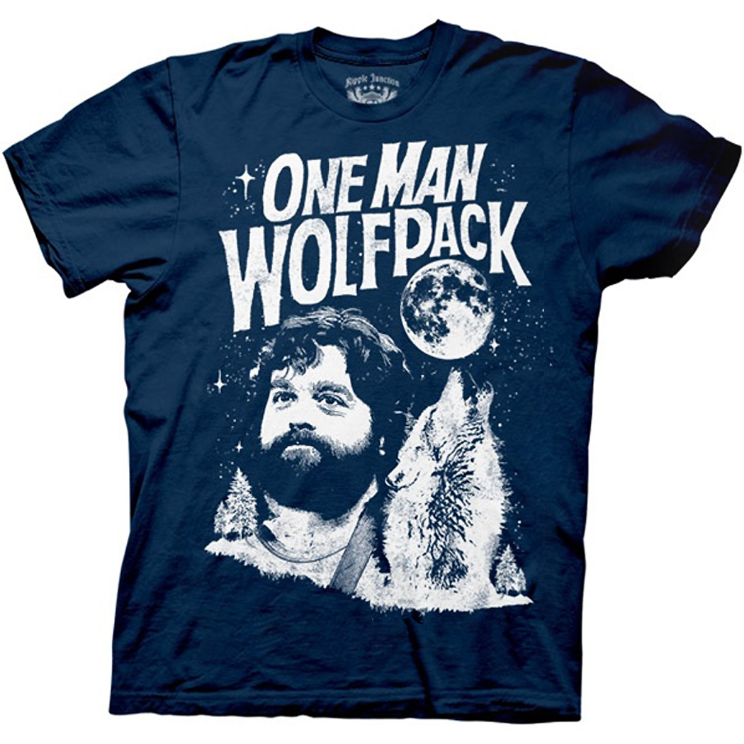 Hangover One Man Wolfpack T-Shirt