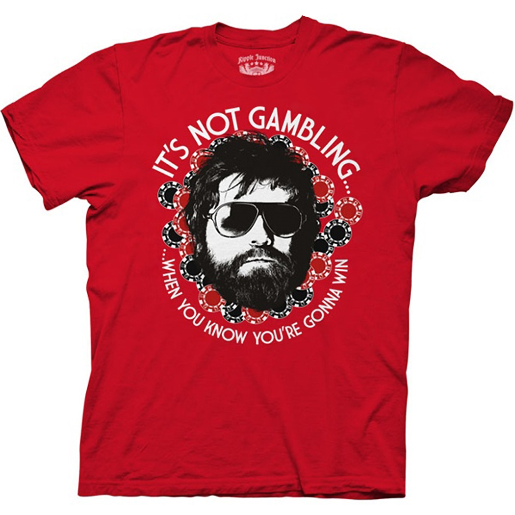 Hangover It's Not Gambling T-Shirt