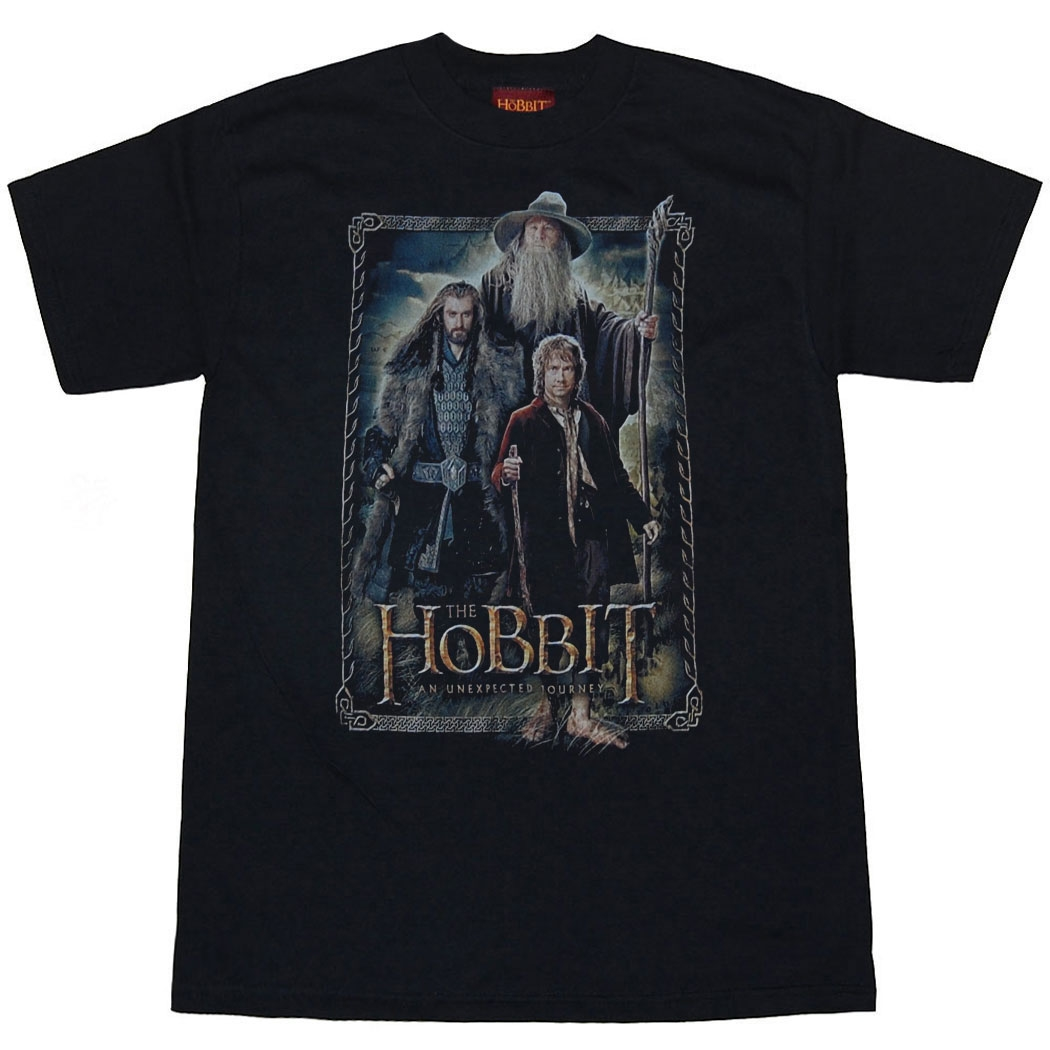 The Hobbit: An Unexpected Journey Hobbit The Three T-Shirt