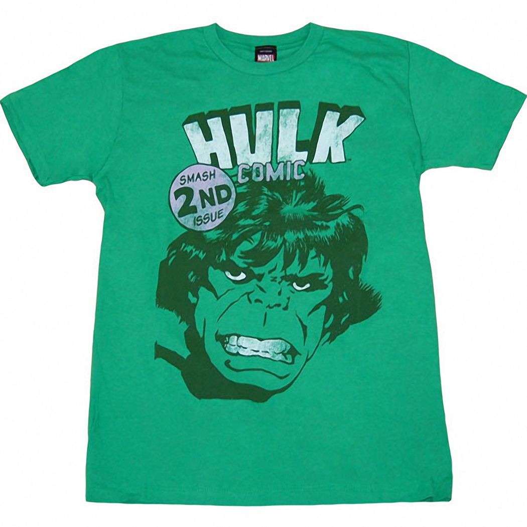 Incredible Hulk Smash 2nd Issue T-Shirt