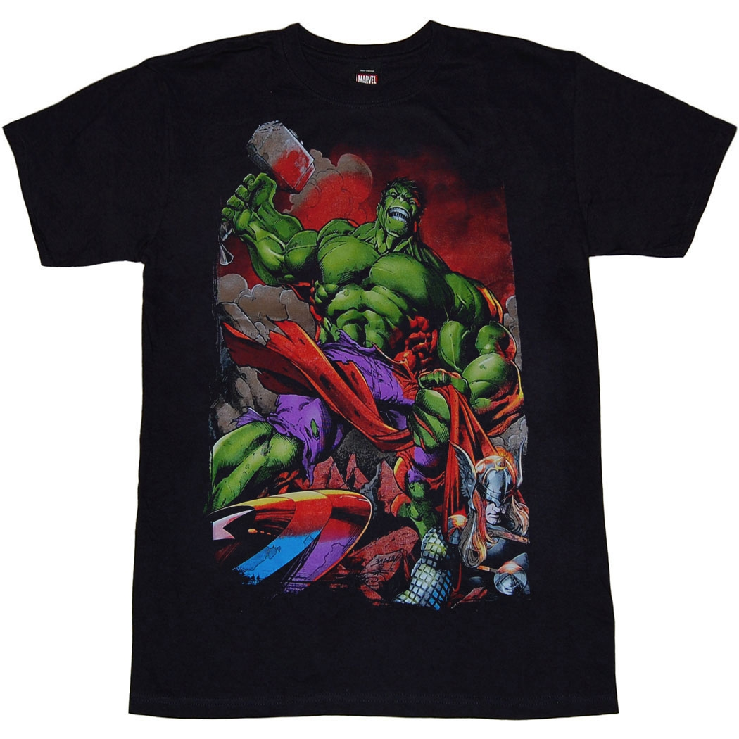 Incredible Hulk Last Stand T-Shirt