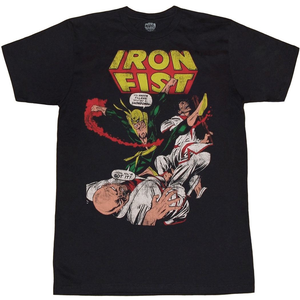 Iron Fist Vintage Cover T-Shirt