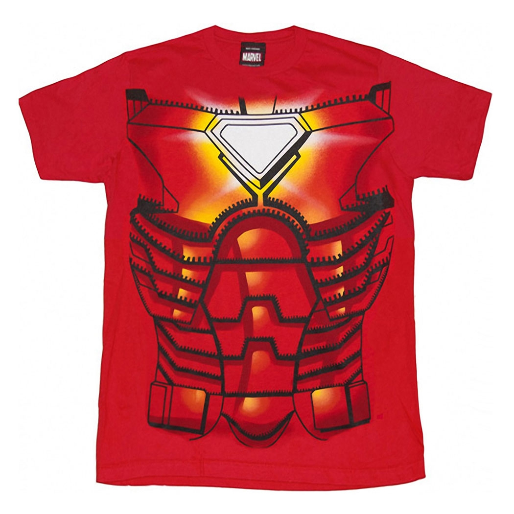Iron Man Costume Juvy T-Shirt