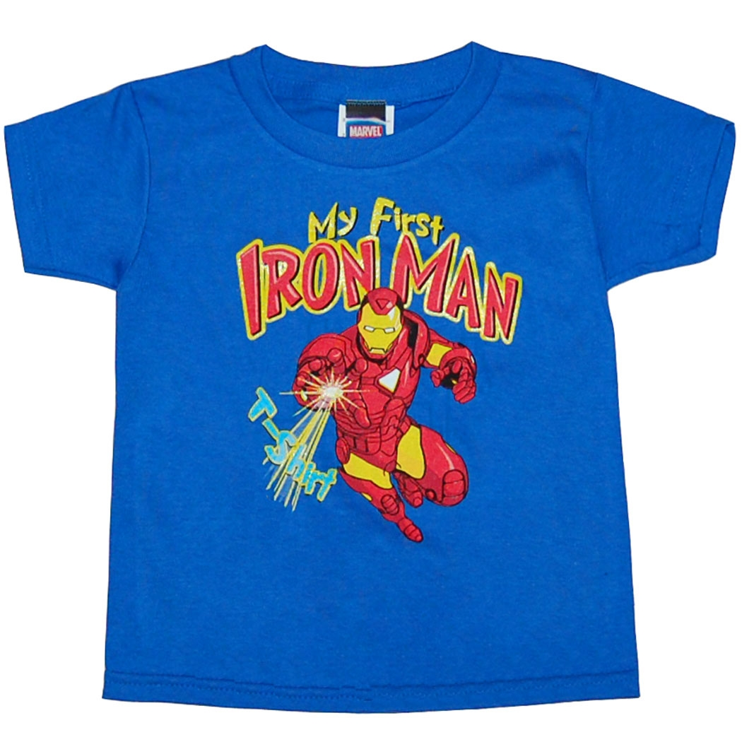 My First Iron Man T-Shirt