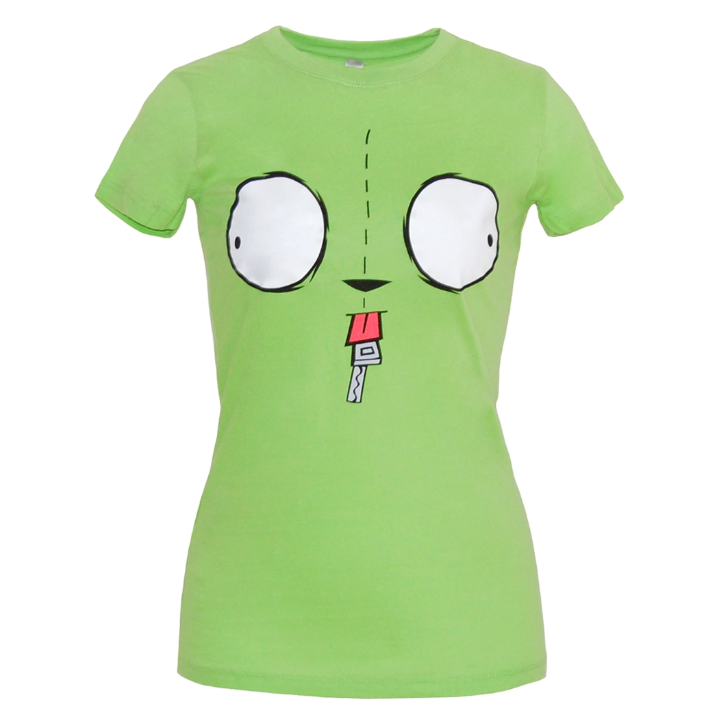 Invader Zim Gir Face Junior T-Shirt