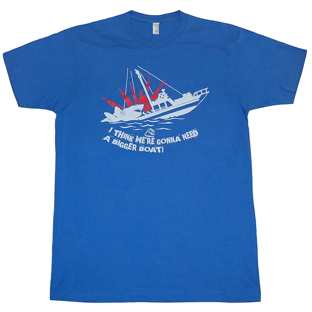Jaws Bigger Boat T-Shirt