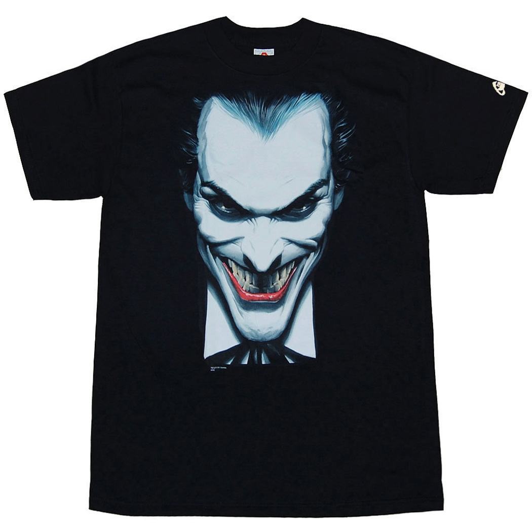 Joker Closeup by Alex Ross T-Shirt