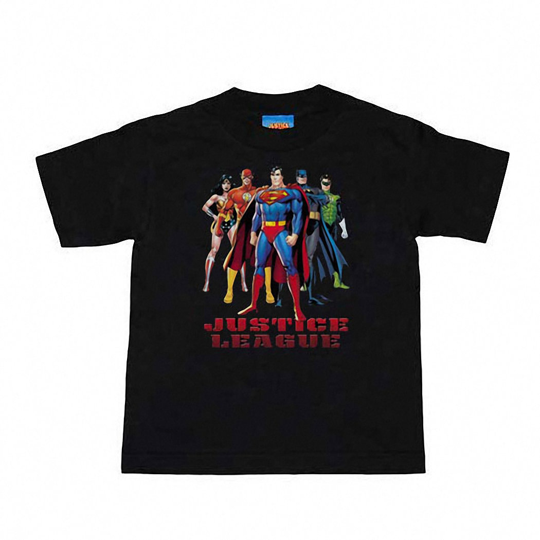 Justice League In League Kids Juvy T-Shirt