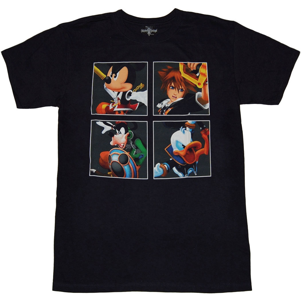 Kingdom Hearts The Four Kings T-Shirt