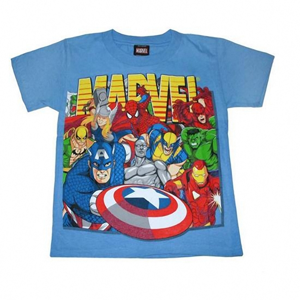 Marvel Comics Cluster Kids T-shirt