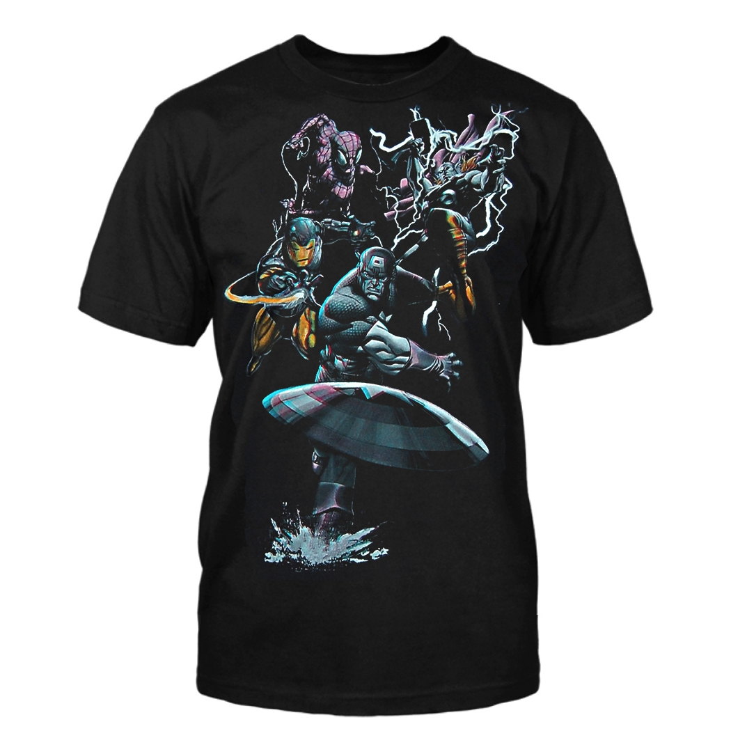 Marvel Comics 3D T-Shirt